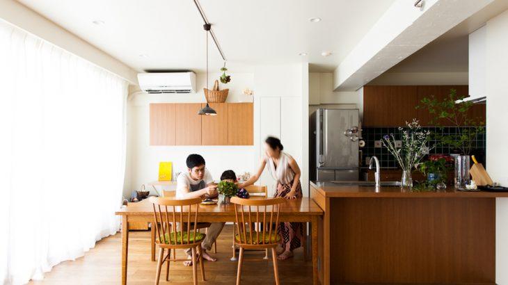 新着リノベーション事例公開|家事動線を追求したすっきり機能美ハウス