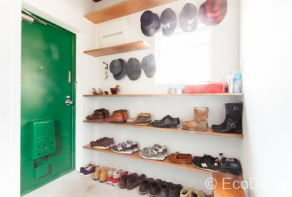 「靴収納」 玄関の下駄箱\u2026こんな風に靴が並んでいたら毎日靴を選ぶのも、 新しい靴が増えるのも楽しくなりそう