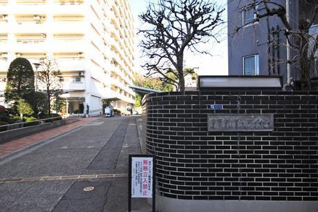 建物アプローチ