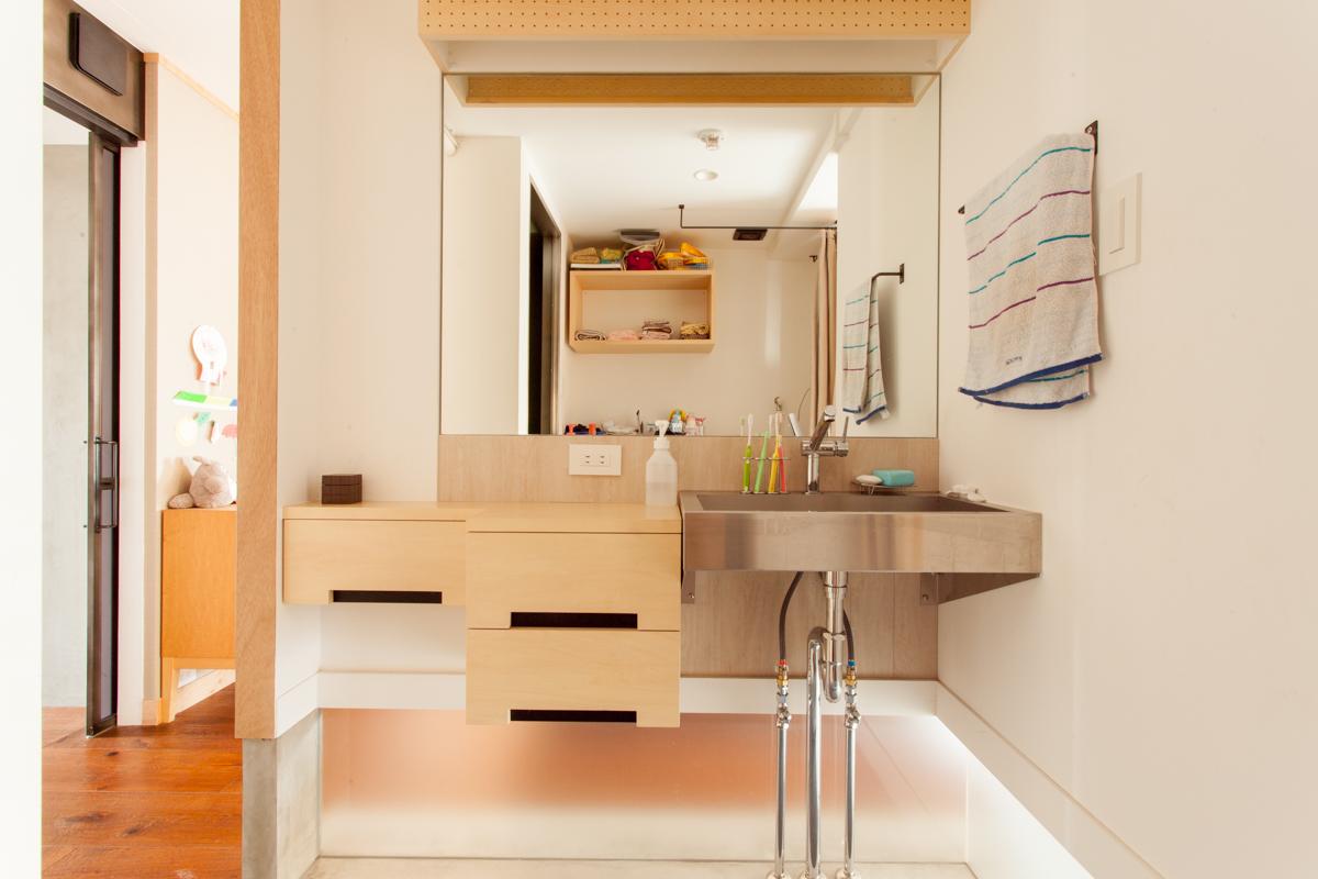 洗面のタオルハンガーどうしましょうか?