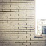 スタッフ自宅リノベ日記□DIY編-7.壁にタイルを貼る