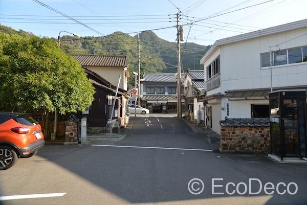 佐賀県の有田町の中心部にある内山地区からは美しい山々が見えます。