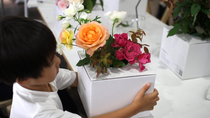 レポート 暮らしとつながる vol.8-WABARAの花束づくり
