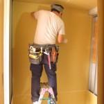 EcoDeco現場レポ:M様邸@小岩の壁ができて部屋っぽくなってきました!