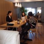 M様邸@桜新町へ雑誌の取材でお邪魔しました。