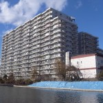 【リノベ向き団地系マンション】住吉の川辺に建つ一大コミュニティ。最も眺望の良い西向き10階☆