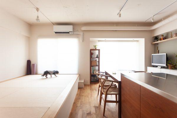 リノベ事例公開//55㎡で4人+愛犬暮らし すっきりコンパクトな自宅リノベ