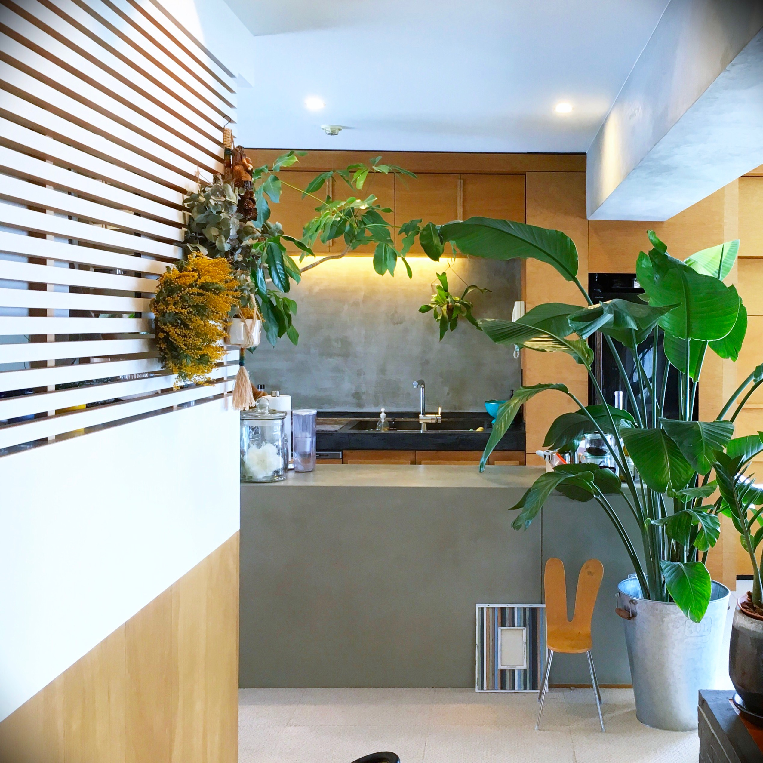 スタッフ自宅リノベ日記■追加工事編-3.キッチンに大理石