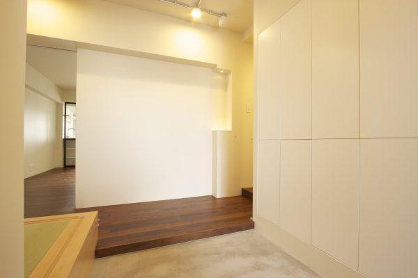 住吉リノベ現場レポvol.5:玄関と廊下を活かす空間づくり