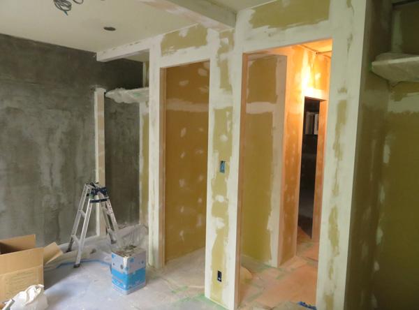 DIYの塗装現場(その2)