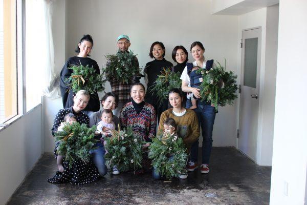 レポート|暮らしとつながる vol.10-針葉樹でつくるクリスマスリース