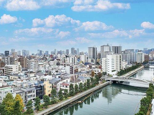【物件紹介】川沿いに佇む真白いあなたが好き@清澄白河