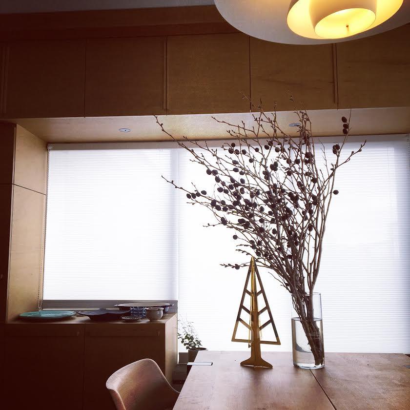スタッフ自宅リノベ日記■追加工事編-2.ハニカムスクリーン