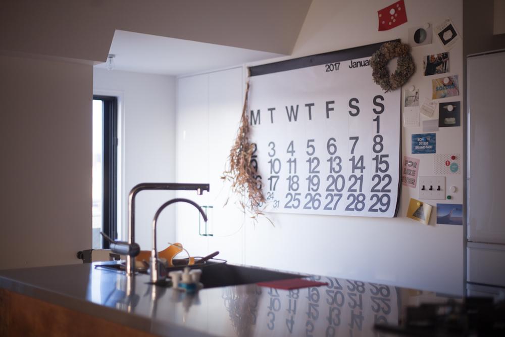 キッチンカレンダー
