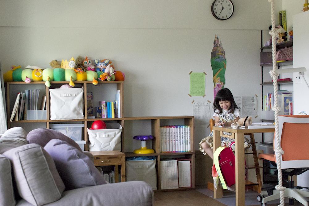 リビングと子供スペース