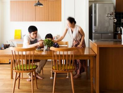家事動線を追求したすっきり機能美ハウス