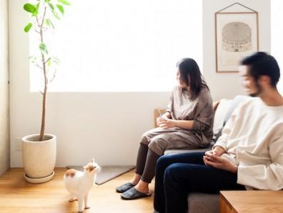猫も家族も心地よく暮らせる、スタイルのある家