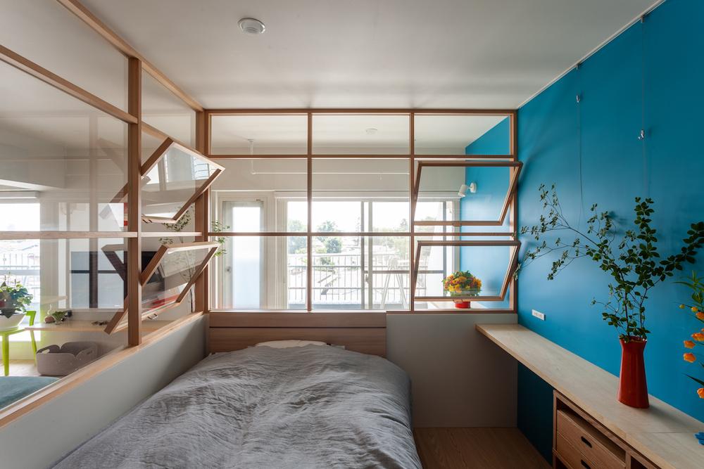 寝室ベッドルーム