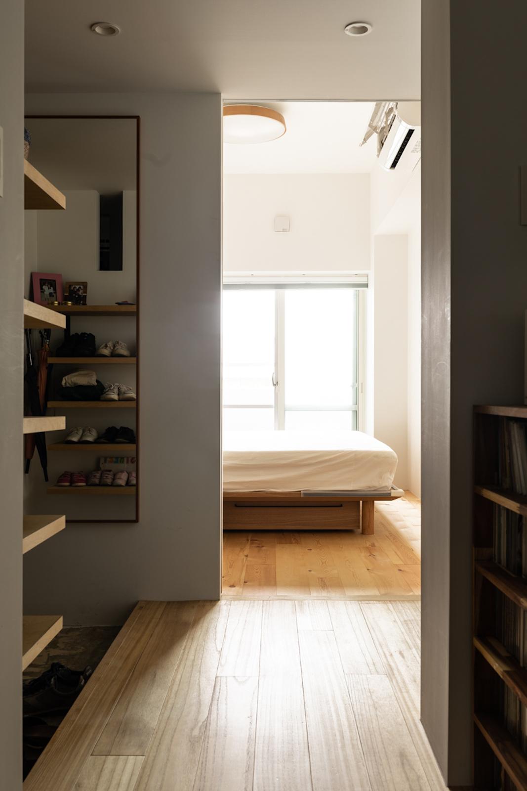 寝室,玄関